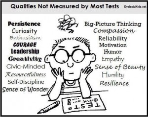 what tests don't measure